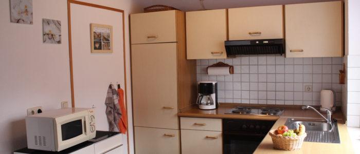 Wohnküche Ferienhaus Lippetal