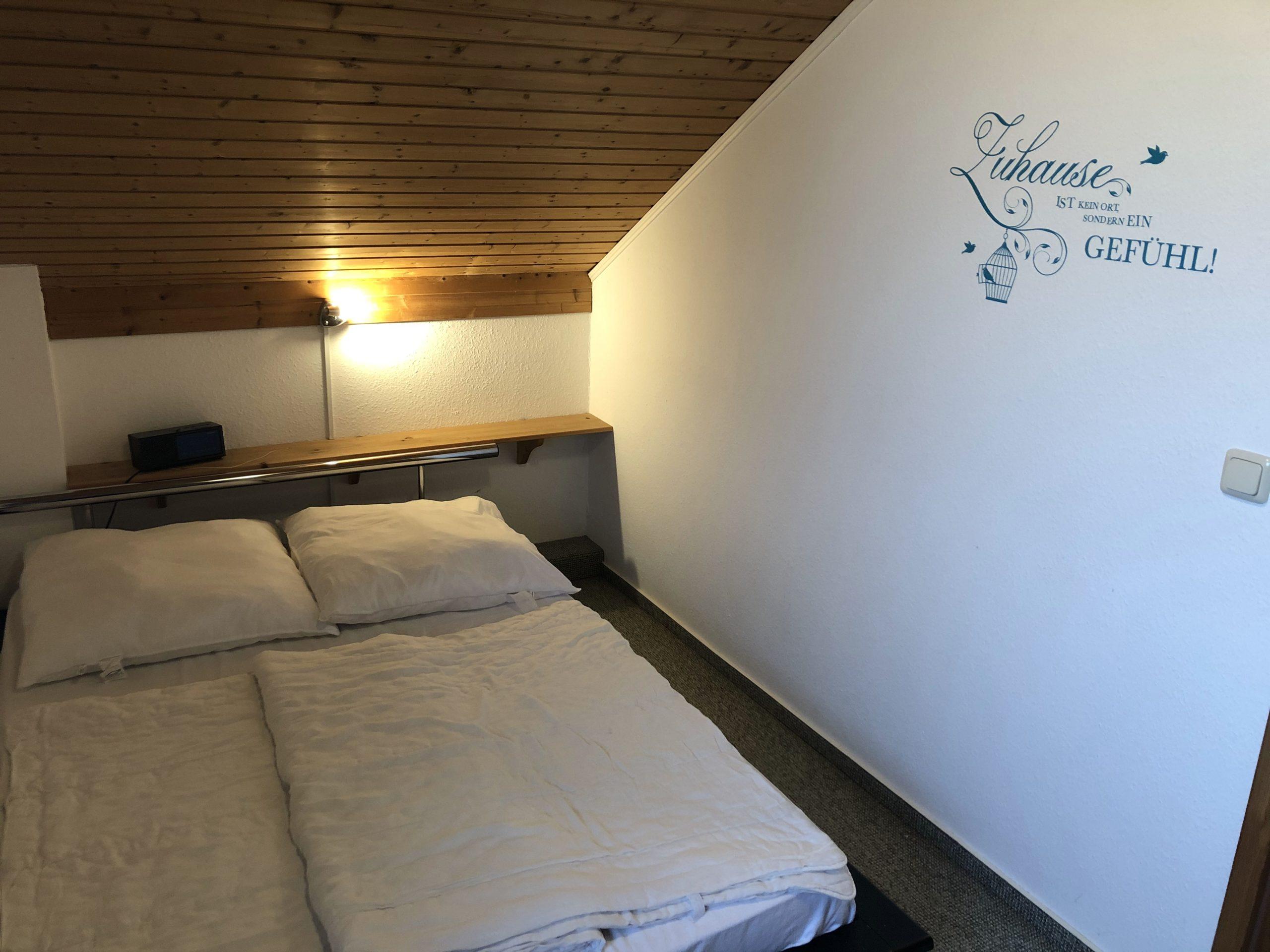 Ferienhaus Lippetal Elternschlafzimmer